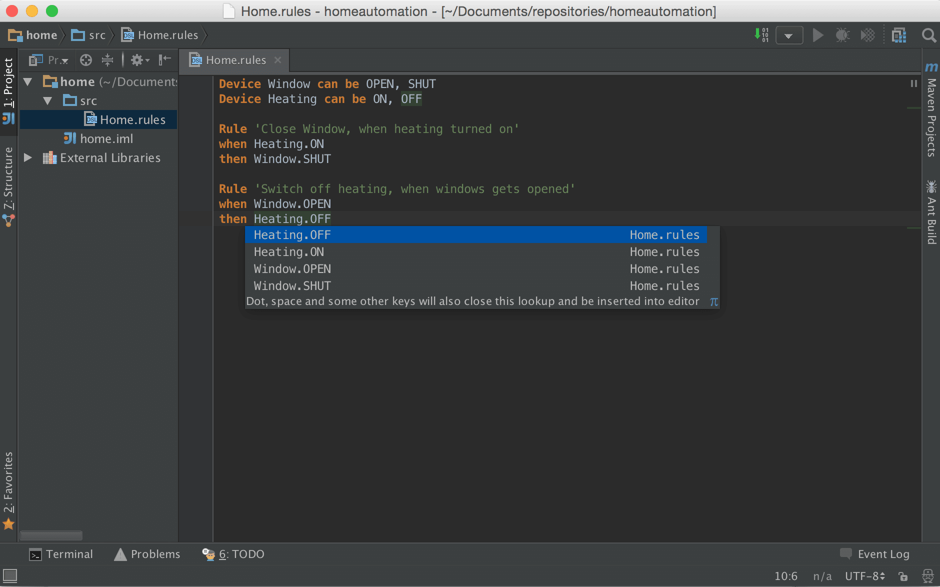 Xtext in IntelliJ IDEA