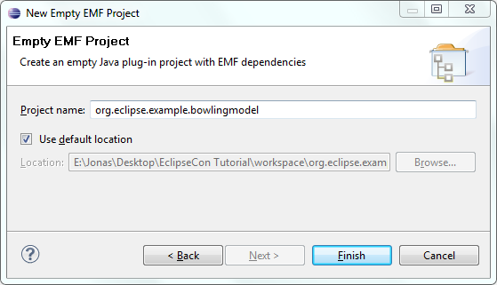Empty EMF Project