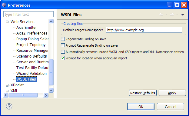 how to create wsdl file in php
