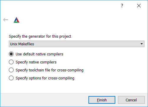 Select compiler in CMake
