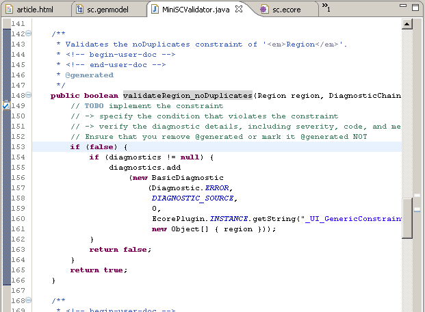 Eclipse Corner Article: Automating the embedding of Domain Specific