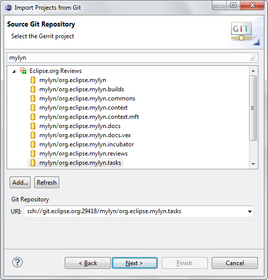 source git repository