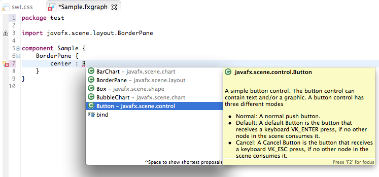 e(fx)clipse - JavaFX tooling and runtime | The Eclipse