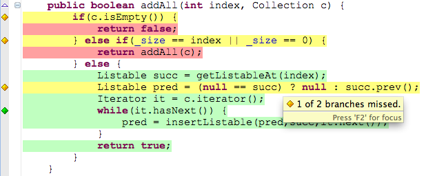 EclEmma – Java Code Coverage for Eclipse   The Eclipse