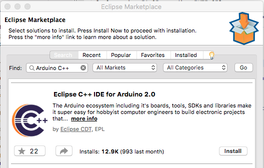Eclipse C++ IDE for Arduino 2.0