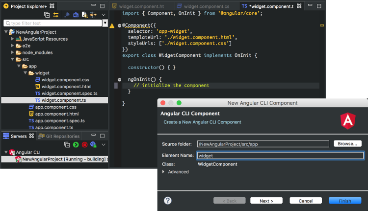 Angular IDE for Modern Web in Eclipse | The Eclipse Foundation