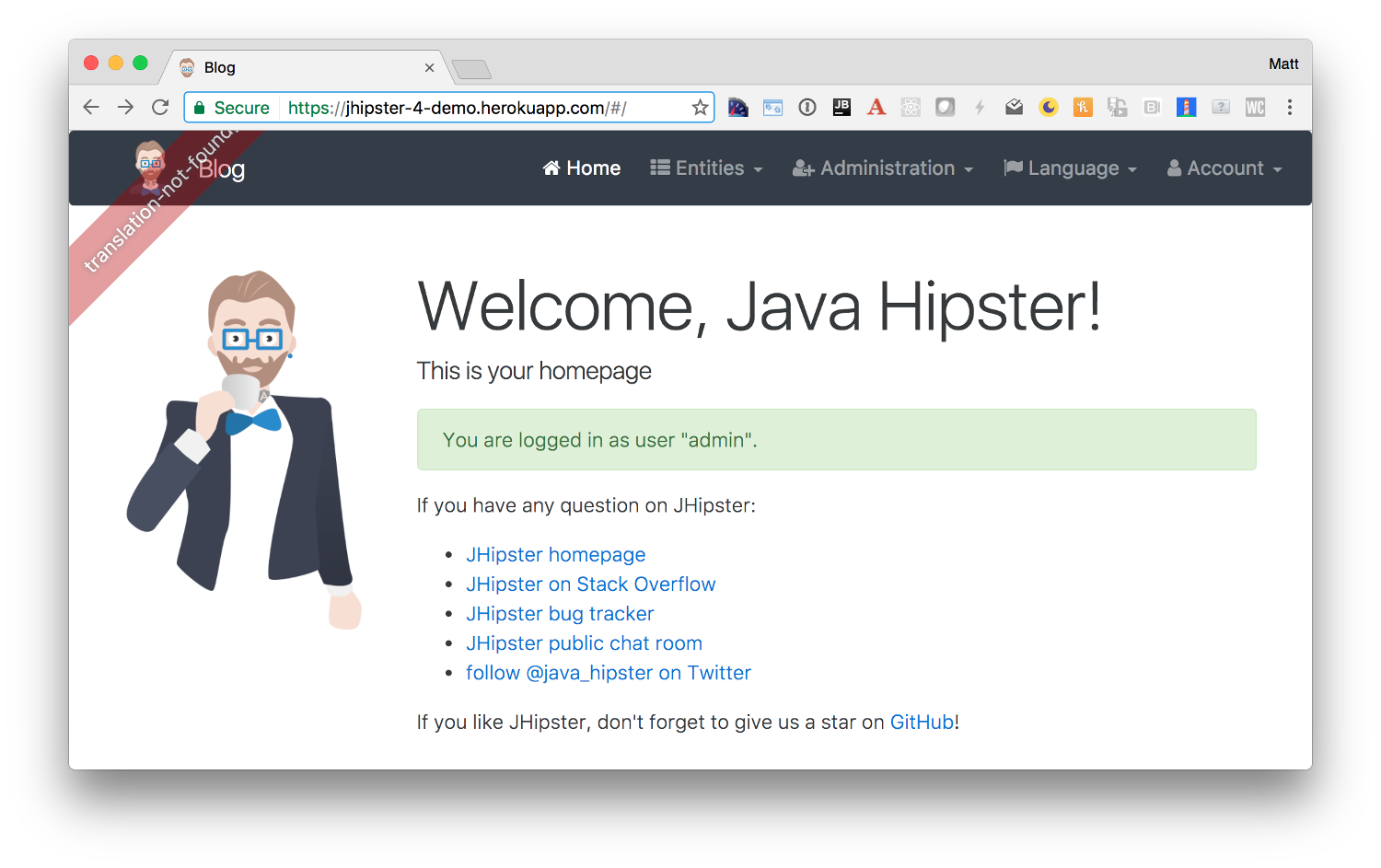Get started with JHipster - Voxxed