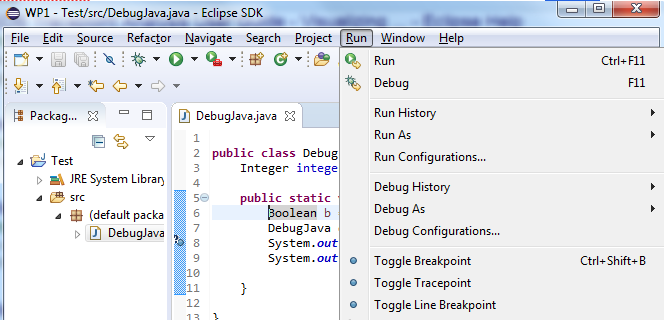 Debugging the Eclipse IDE for Java Developers | The Eclipse
