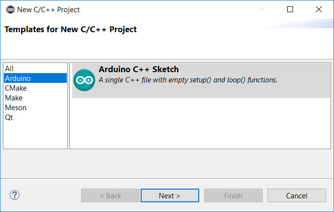 Arduino Development with the Eclipse Photon C/C++ IDE | The Eclipse
