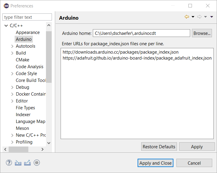 Arduino Development with the Eclipse Photon C/C++ IDE | The