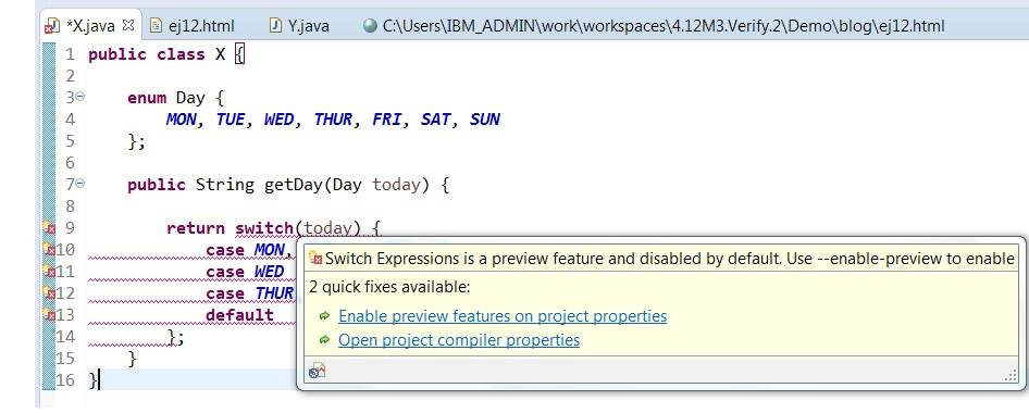 Express Yourself More by Switching to Java 12 - A Preview of