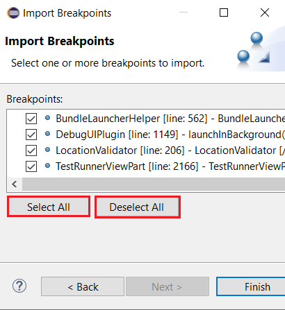 import selectall