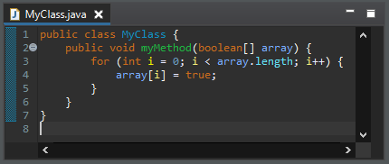 arrays fill before