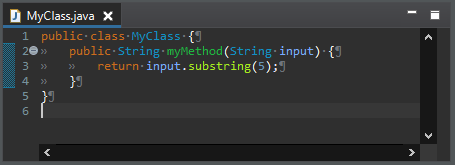 substring after