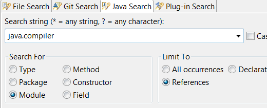 java9 module search