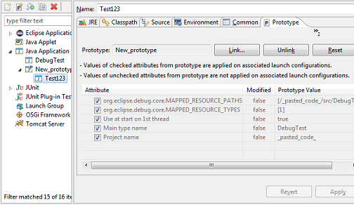 prototype tab java launch configuration 2