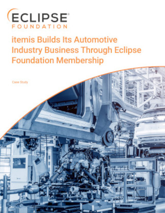 itemis Builds Its Automotive Industry Business Through Eclipse Foundation Membership