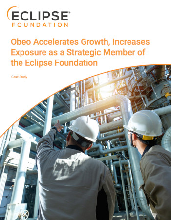 Obeo Accelerates Growth Increases Exposure as a Strategic Member of the Eclipse Foundation