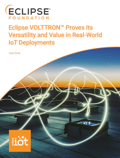 Eclipse VOLTTRON Proves Its Versatility and Value in Real-World IoT Deployments